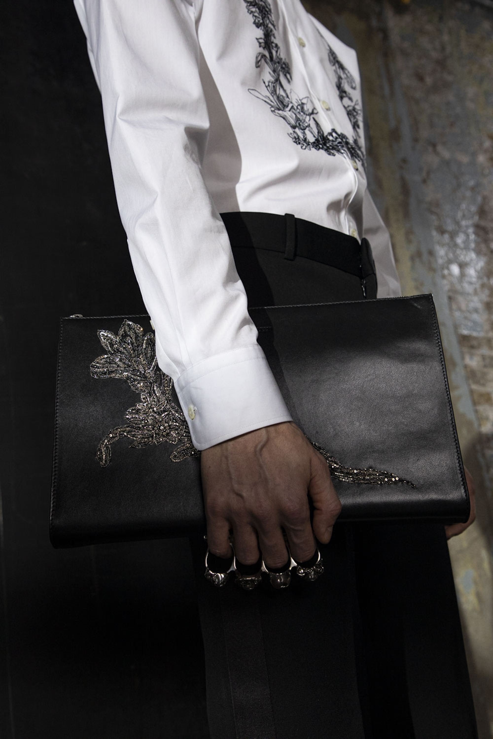 Alexander McQueen AW20 Pre Fall Accessories Mens Bag