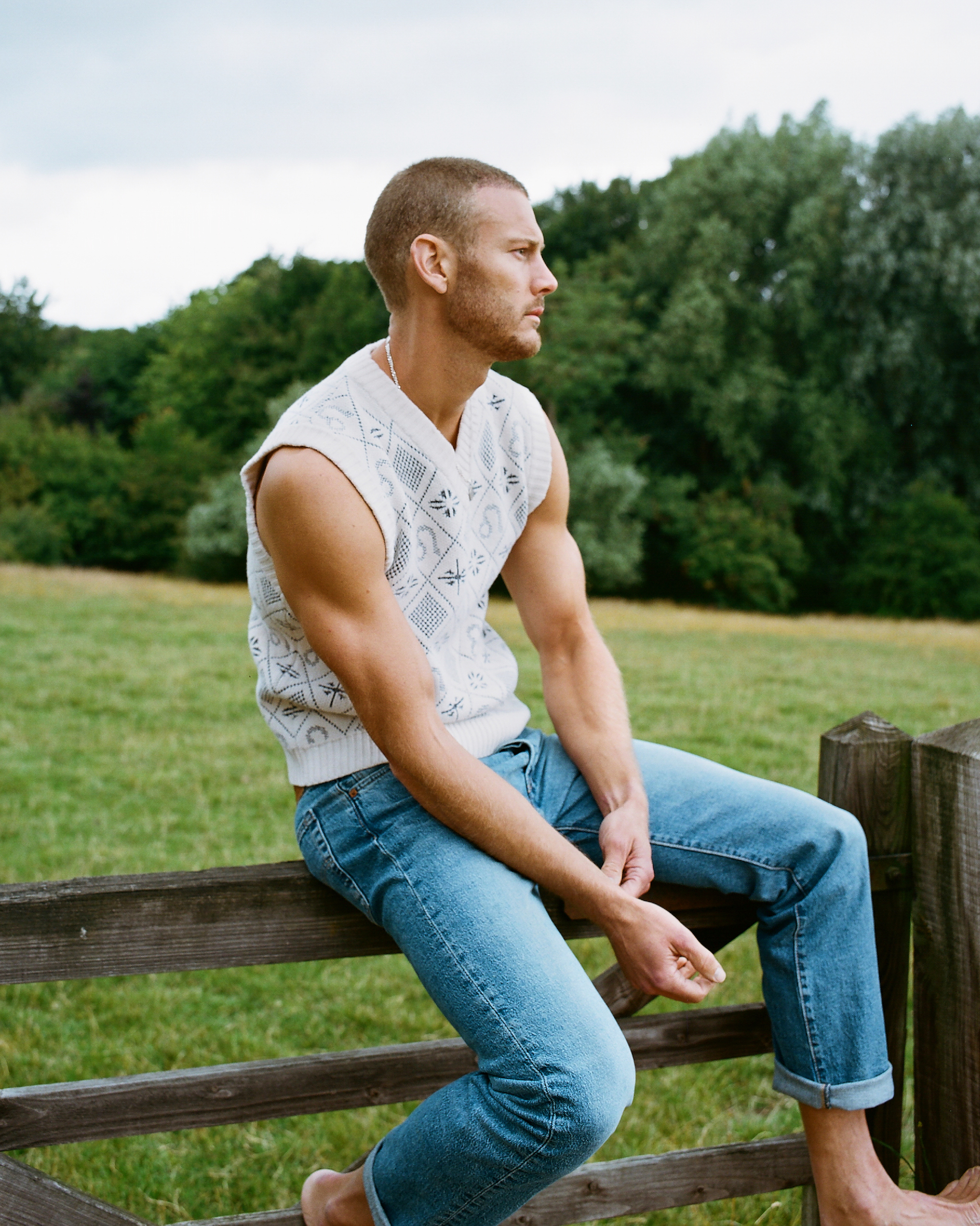 Tom Hopper for Man About Town vest
