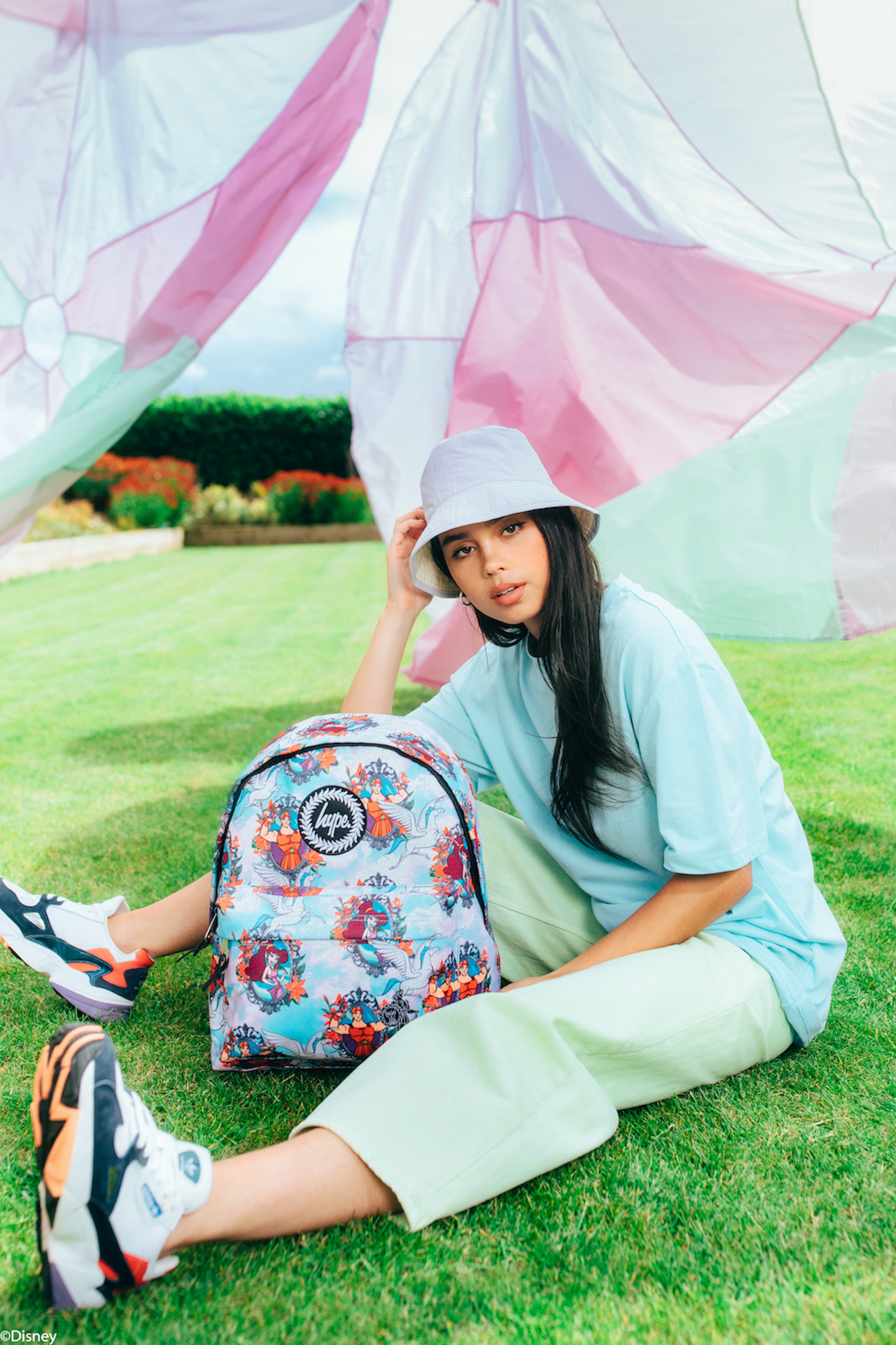Disney launch new collection with HYPE. Blue flower backpack