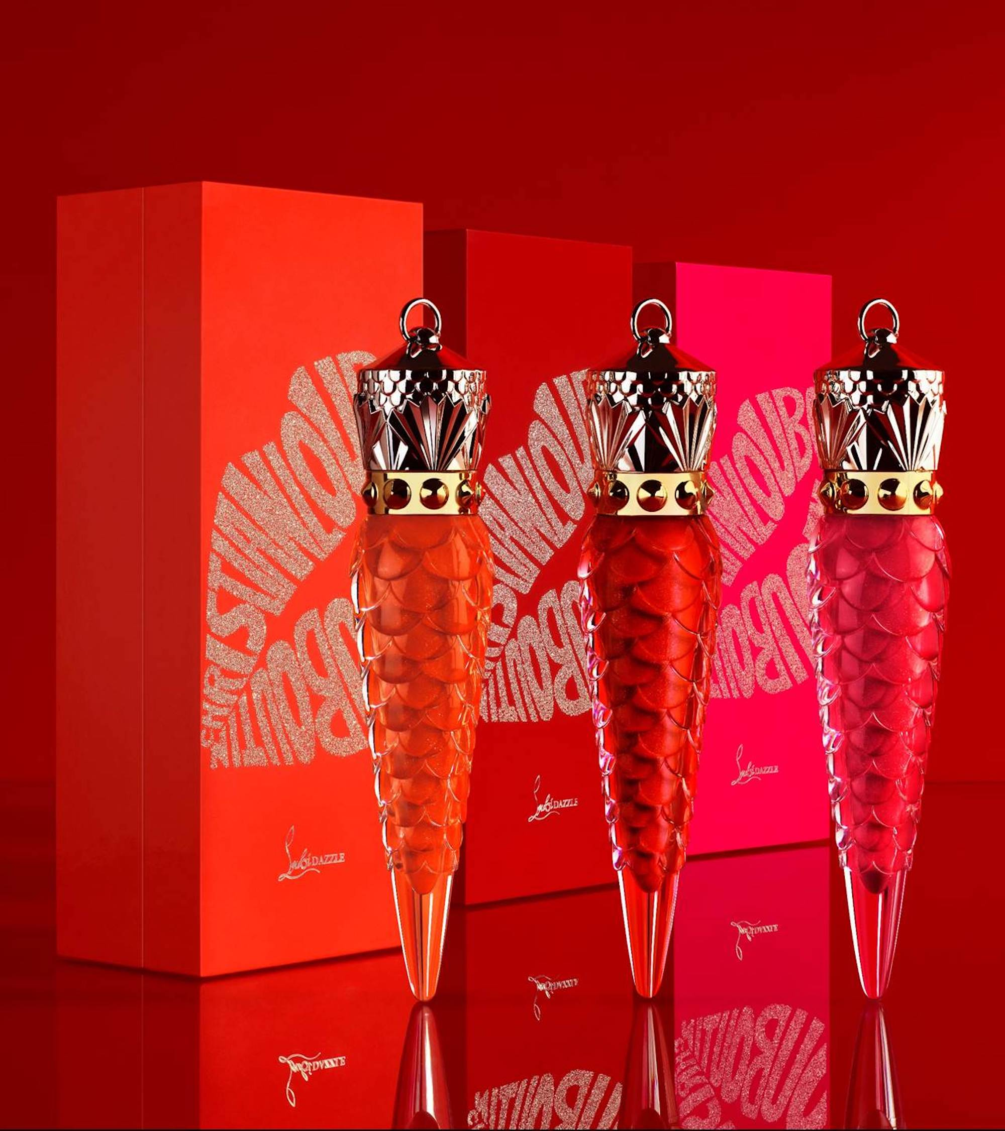 Christian louboutin launch their new collection LoubiDazzle