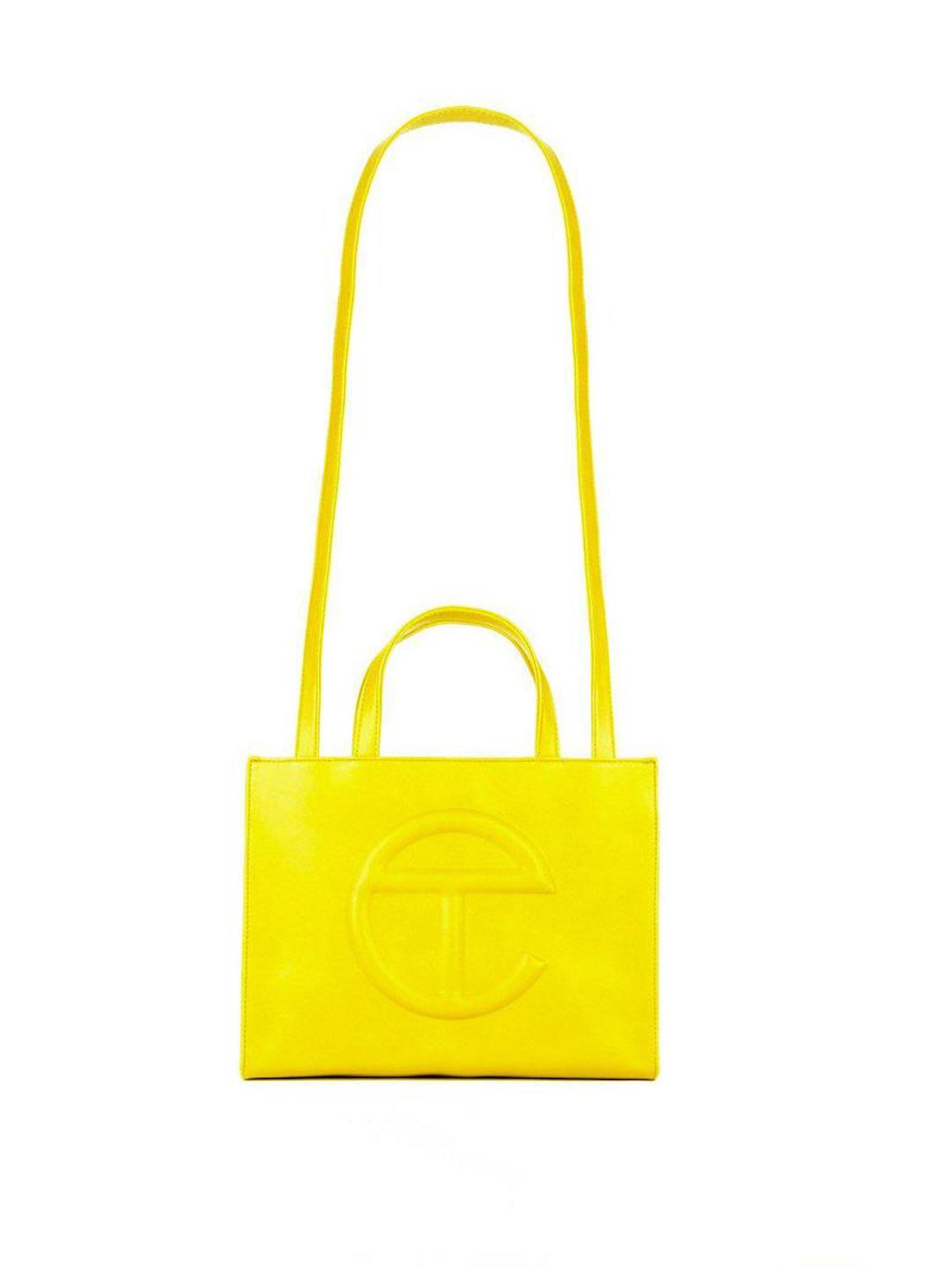 Telfar Yellow Shopping Bag
