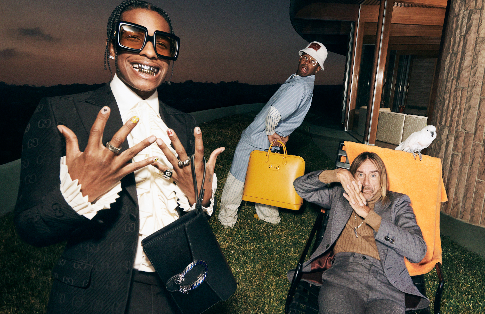 Gucci Mens Tailoring Iggy A$AP Tyler Yard