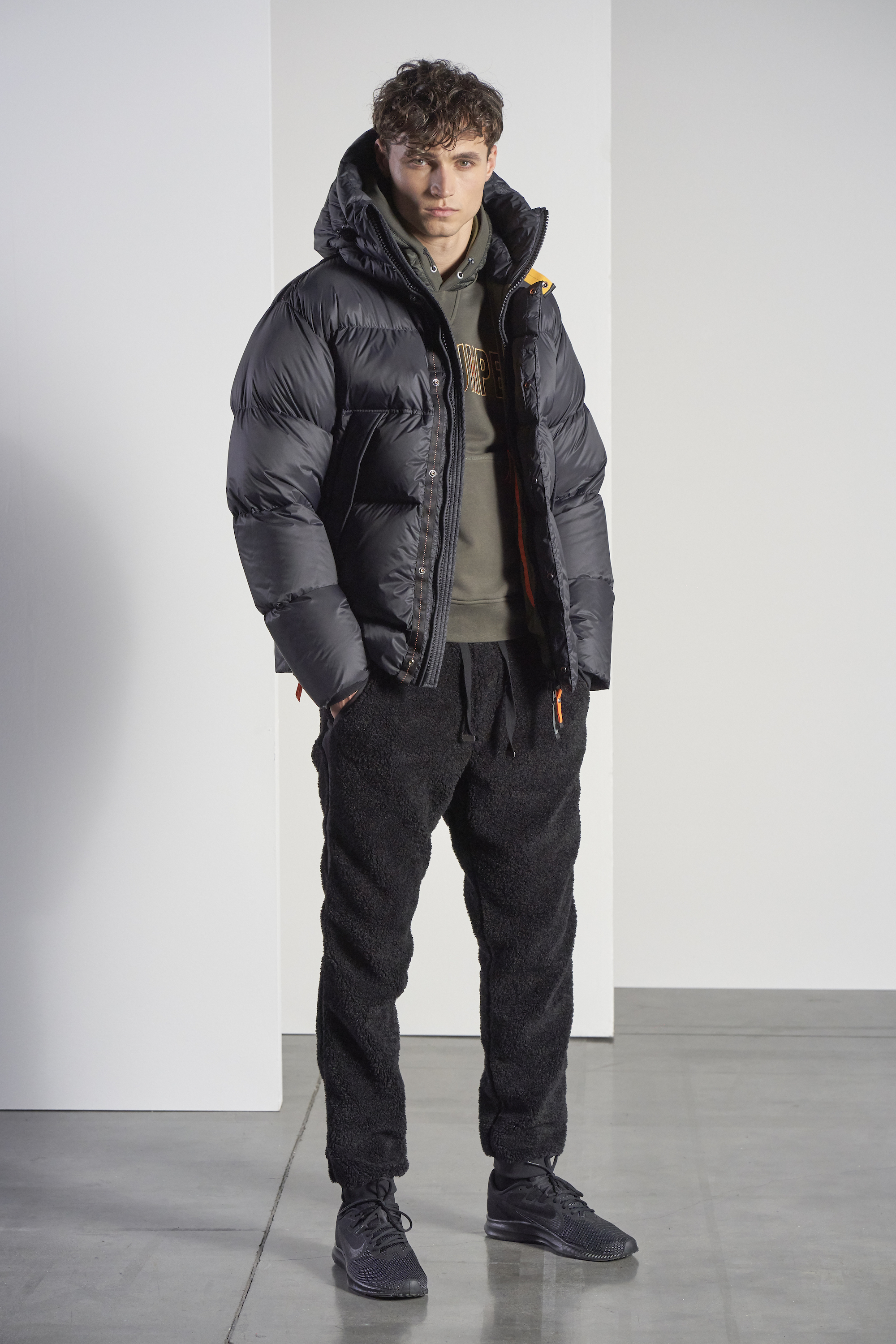 parajumpers AW20 black jacket mens
