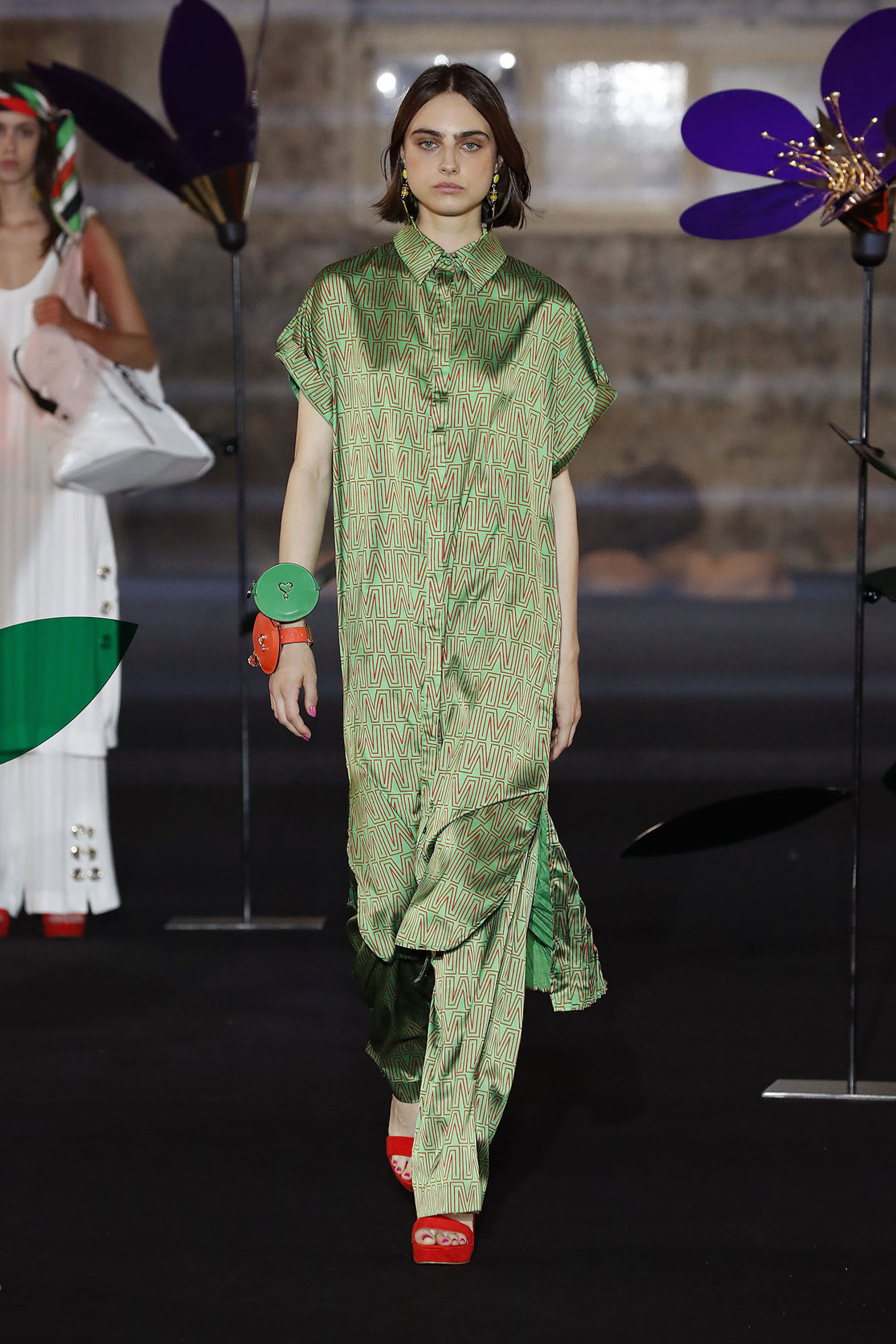 Barcelona Fashion Week 080 Maite By Lola Casademunt green two piece