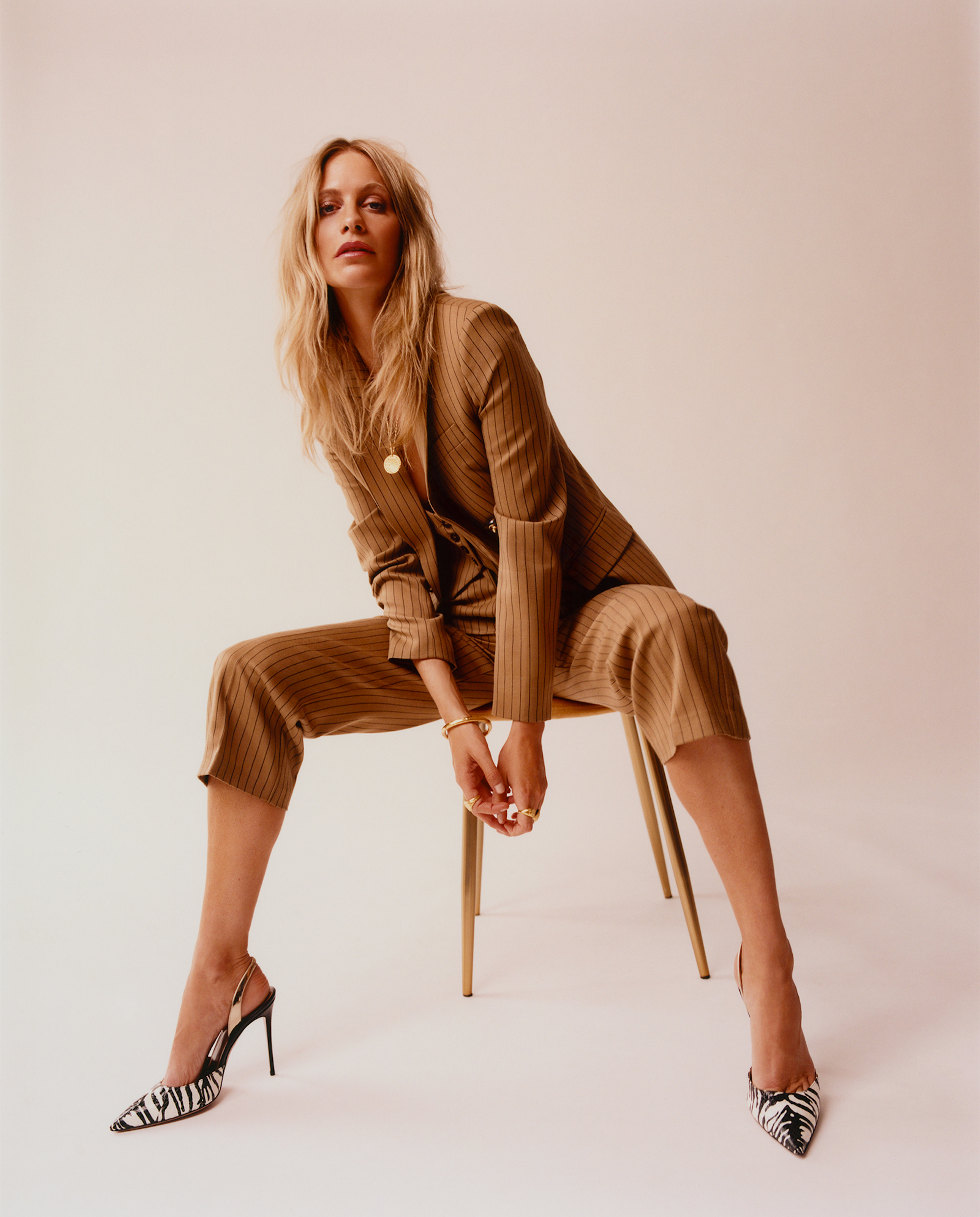Poppy Delevingne covers Rollacoaster chair