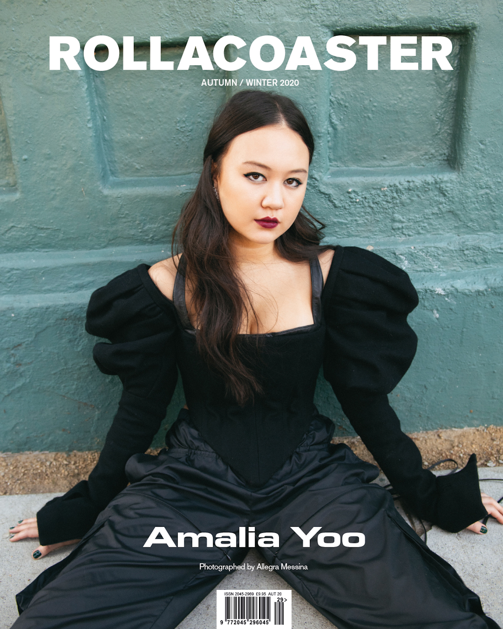 Amalia Yoo Covers: Rollacoaster Magazine Autumn/ Winter 2020