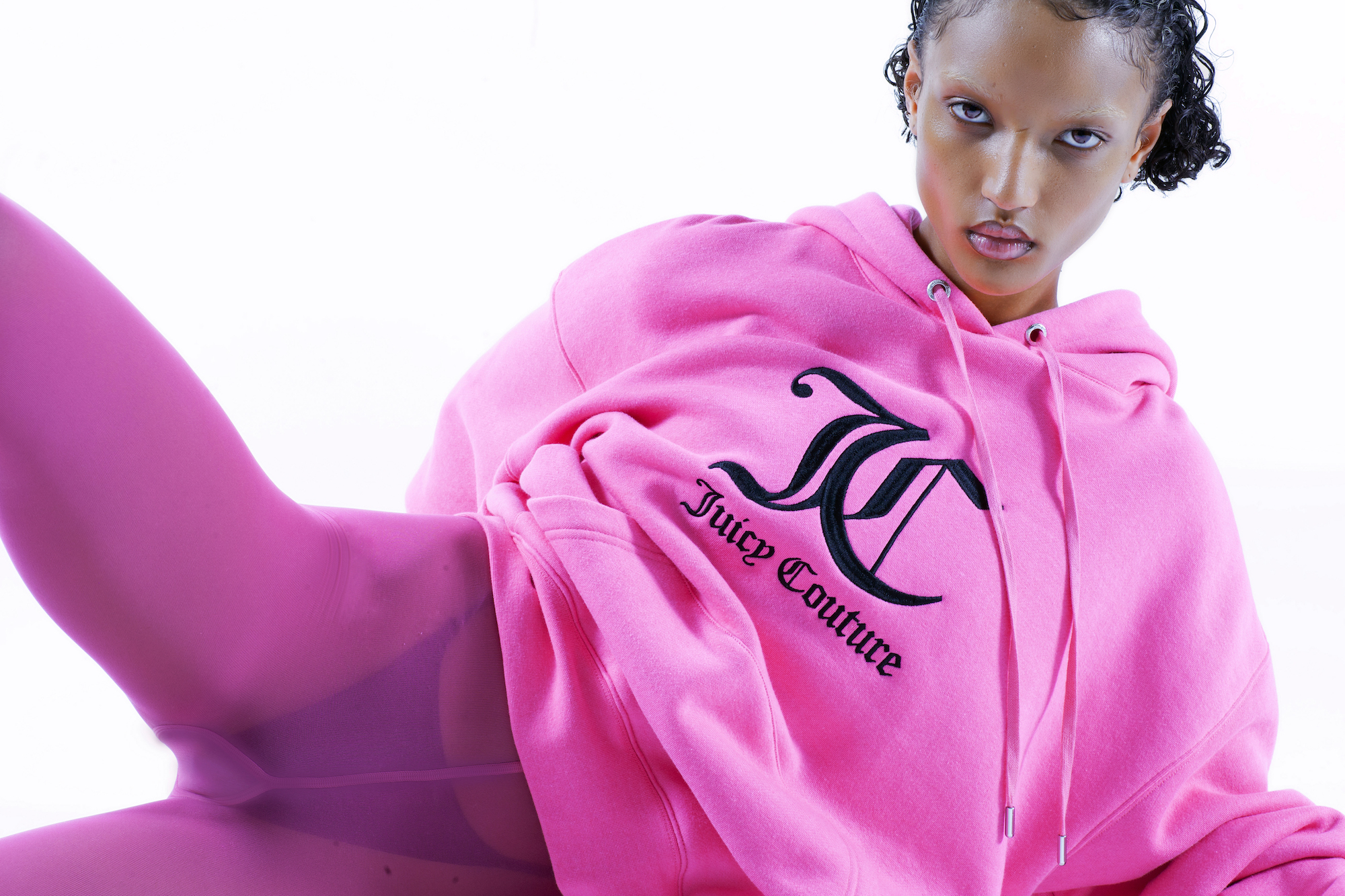 Juicy Couture AW20 pink hoodie