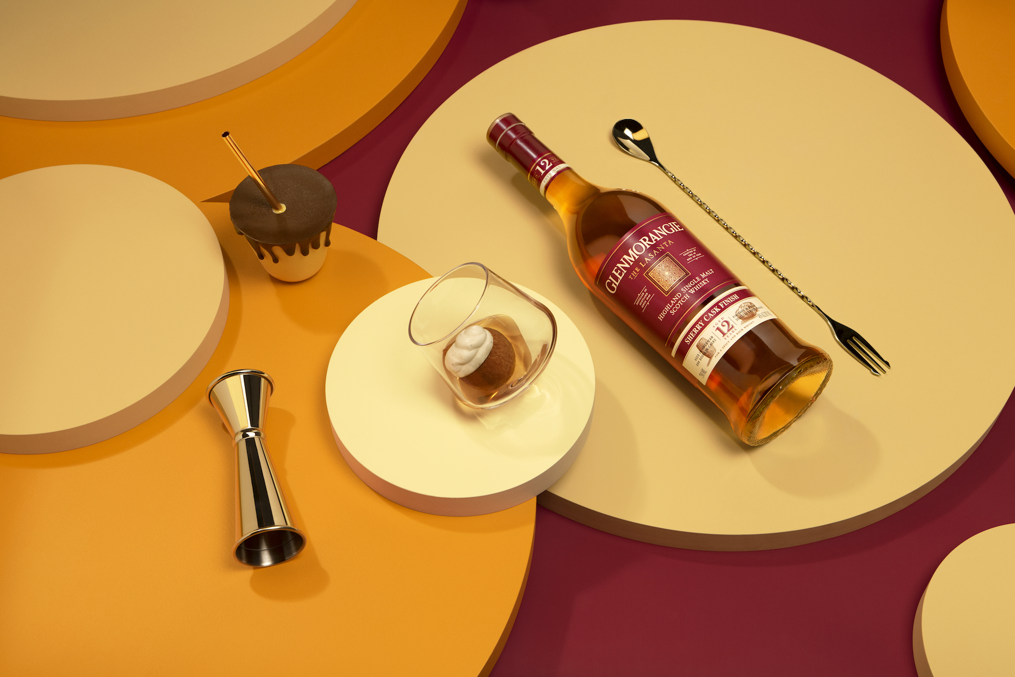 Dominique Ansel for Glenmorangie's A Tale of Cake Lasanta