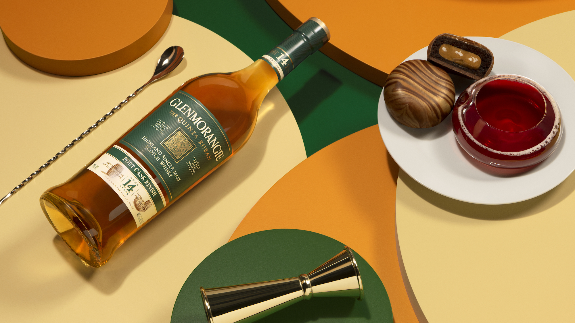 Dominique Ansel for Glenmorangie's A Tale of Cake Quinta Ruban