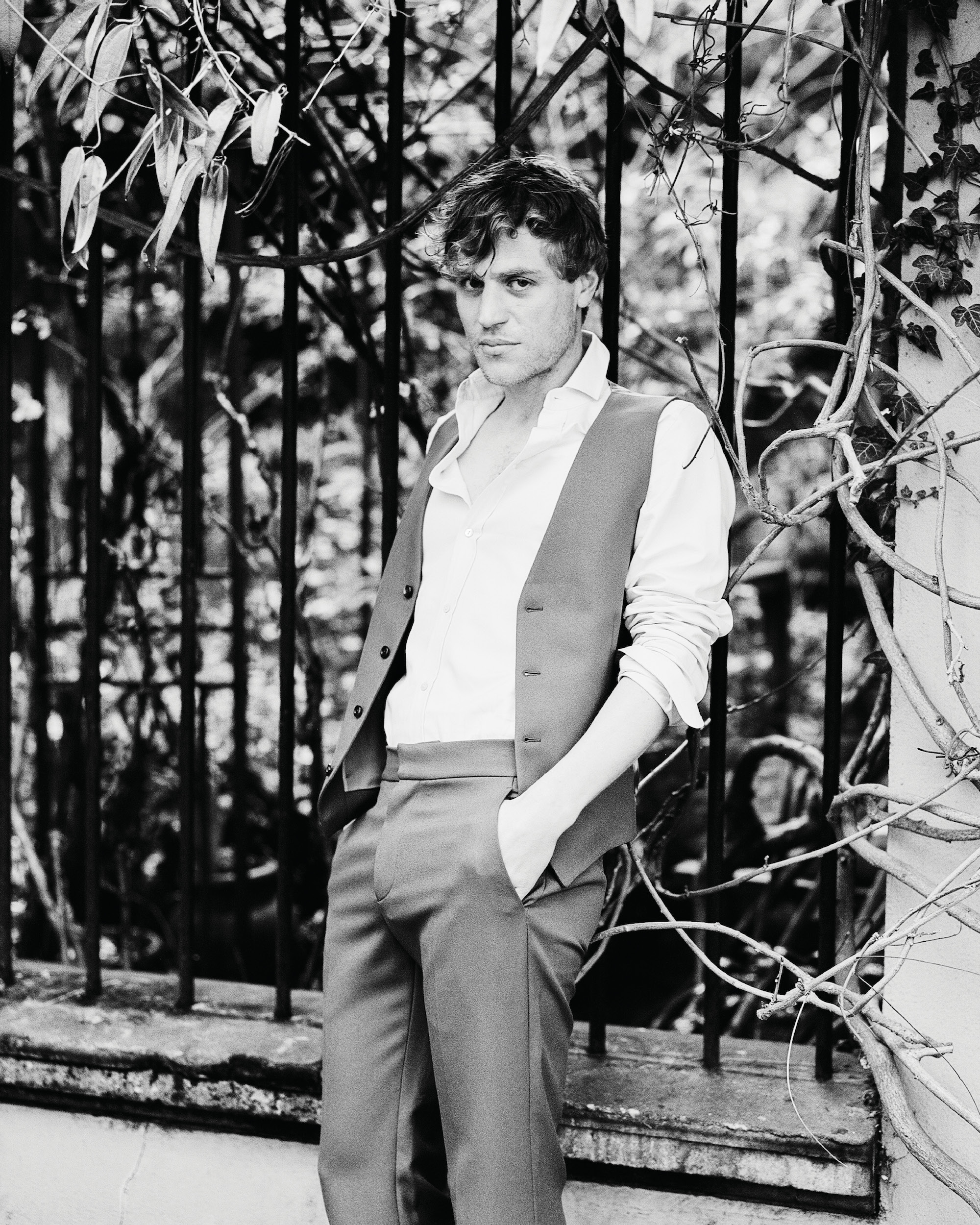 Johnny Flynn interviewed for Man About Town: 2020, Chapter I waistcoat