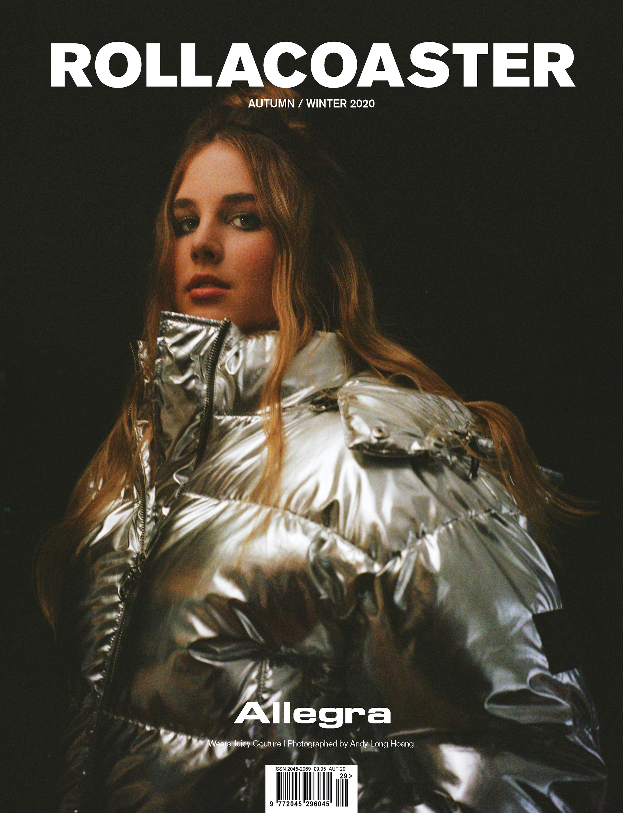 ALLEGRA covers the AW20 issue of rollacoaster