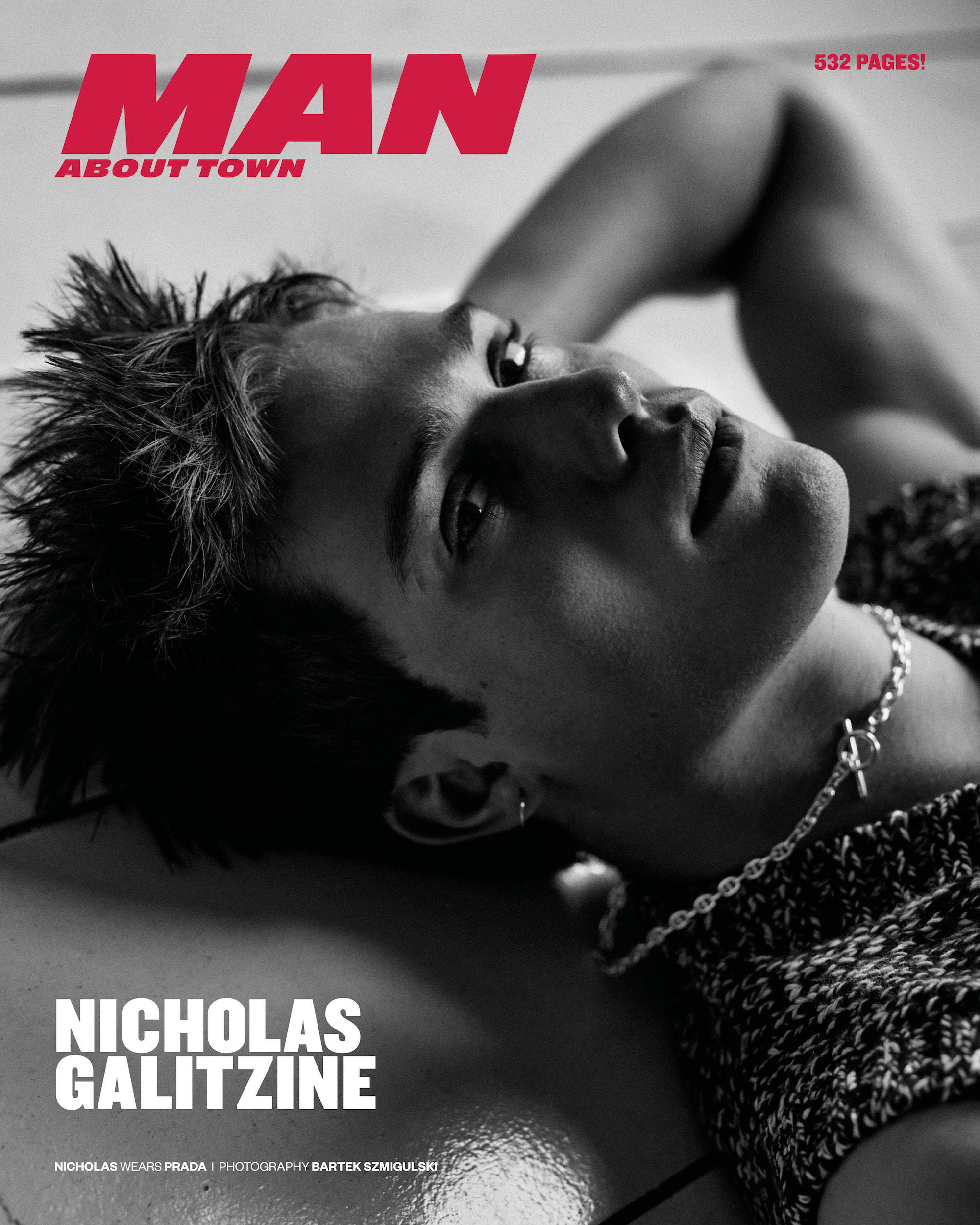 Nicholas Galatzine covers Man About Town
