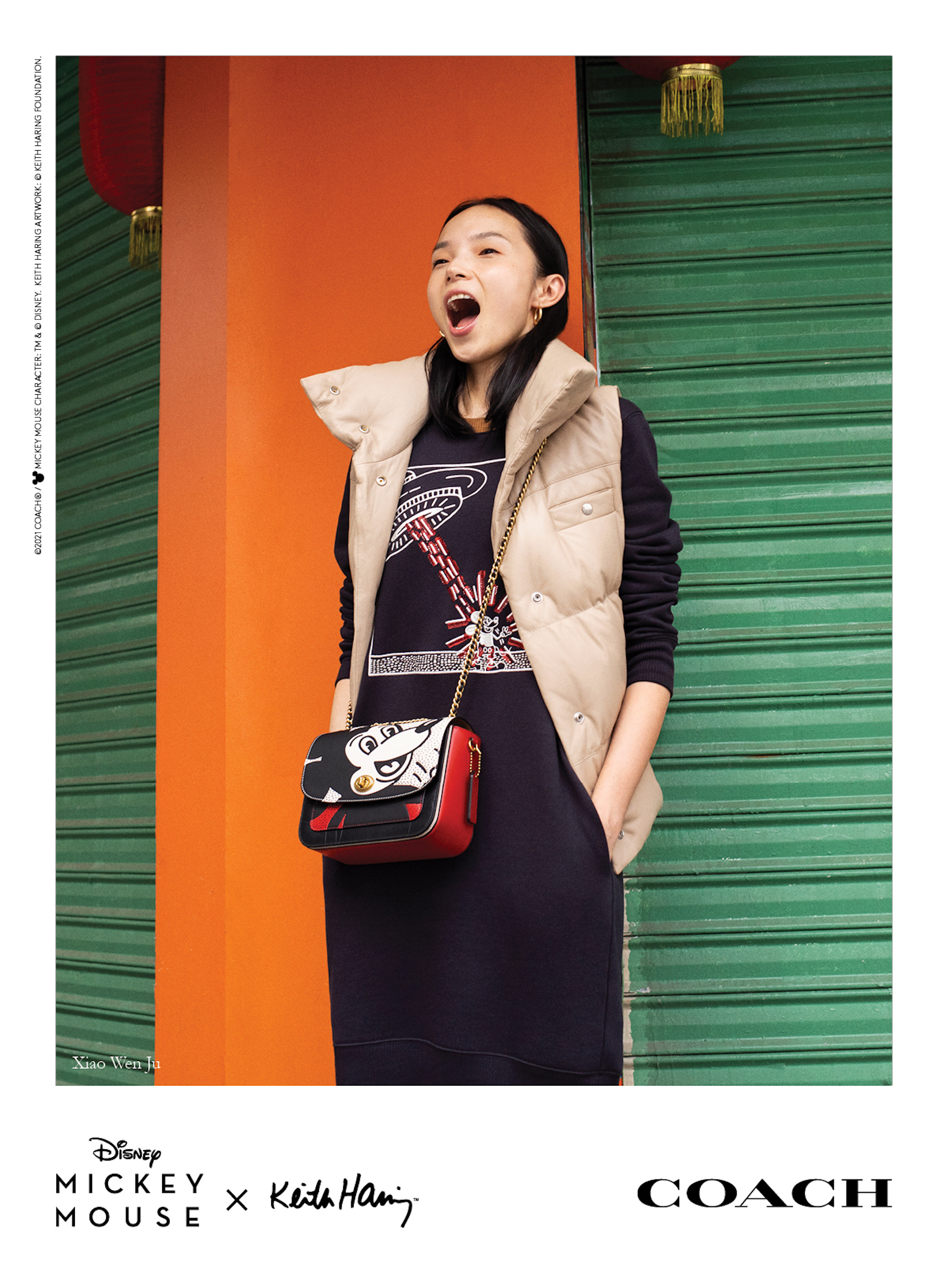 Mickey x Keith Haring for Coach Xiao Wen Ju