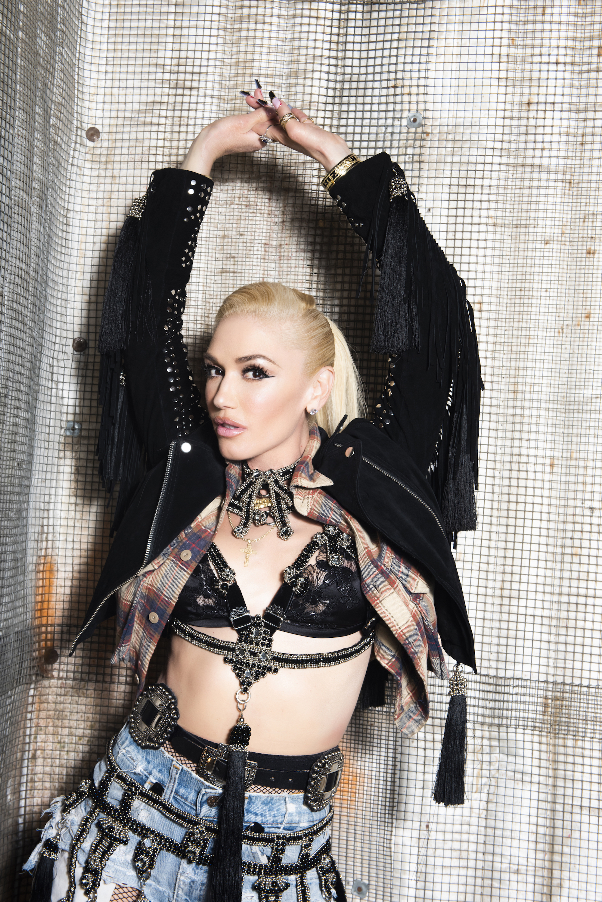 Gwen Stefani video image by Lindsey Byrnes