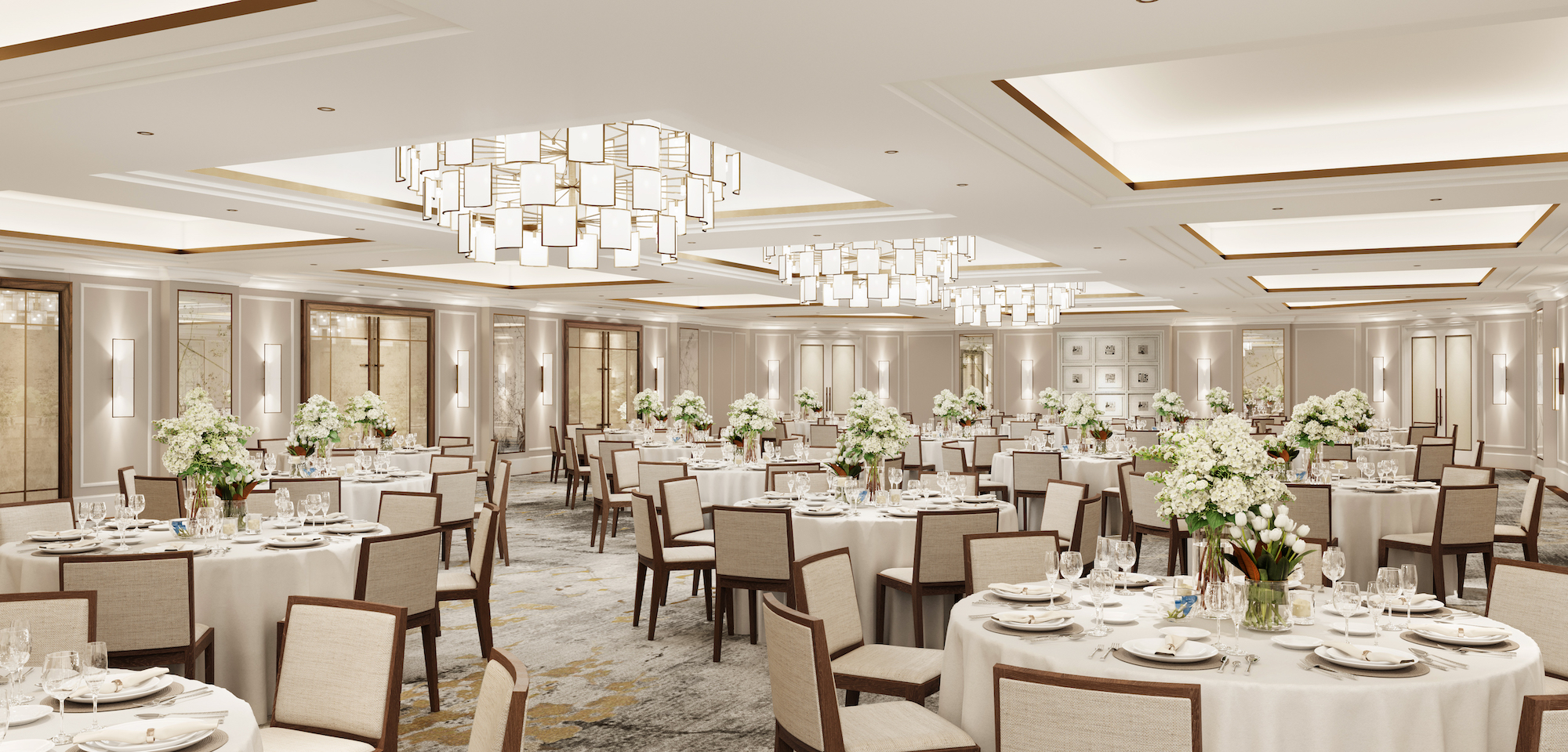 The Carlton Tower Jumeirah, reopens doors early 2021 after renovation, ballroom