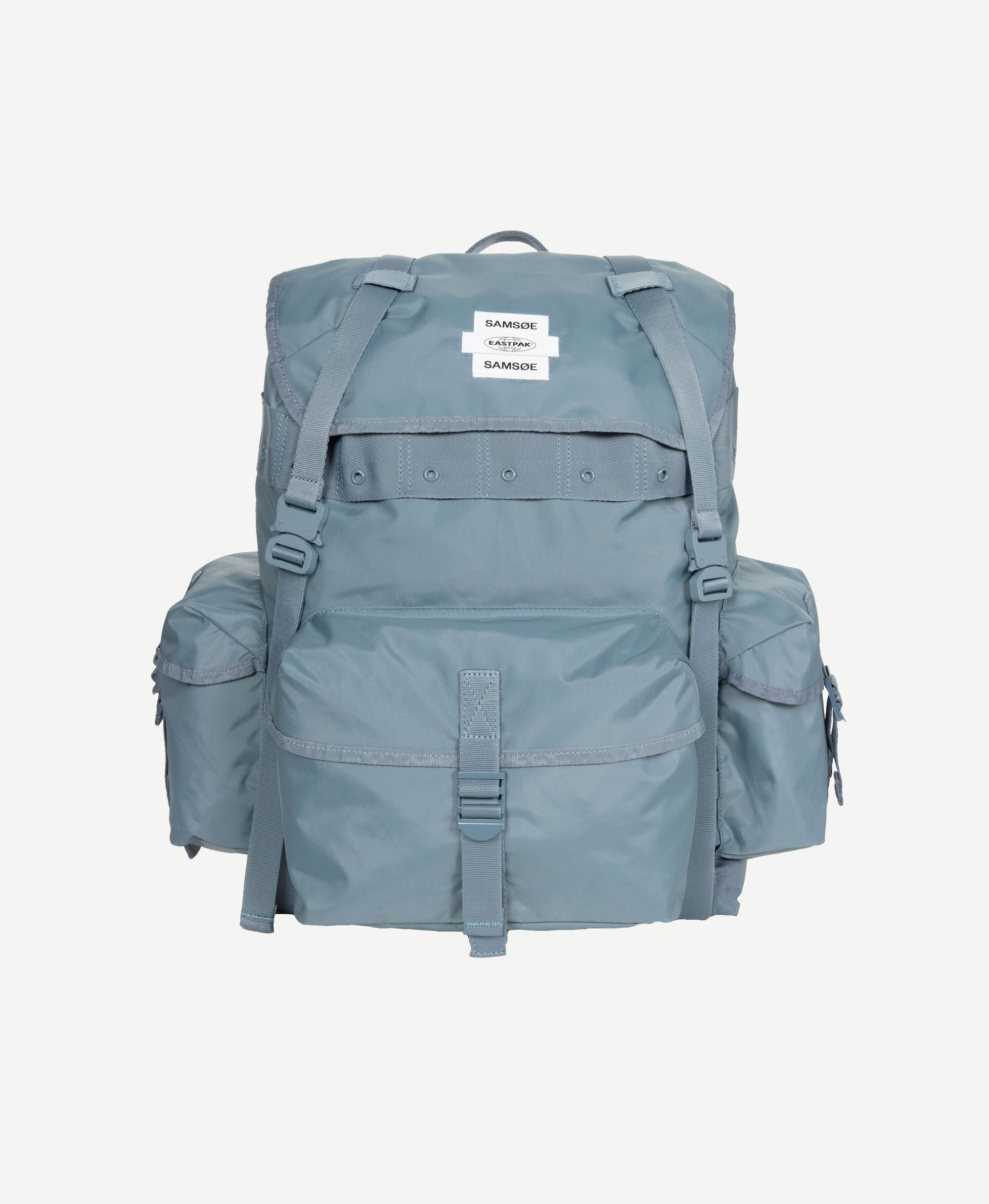 SAMSOE SAMSOE_SS21_EASTPAK_BIG BACKPACK 13052_BLUE MIRAGE