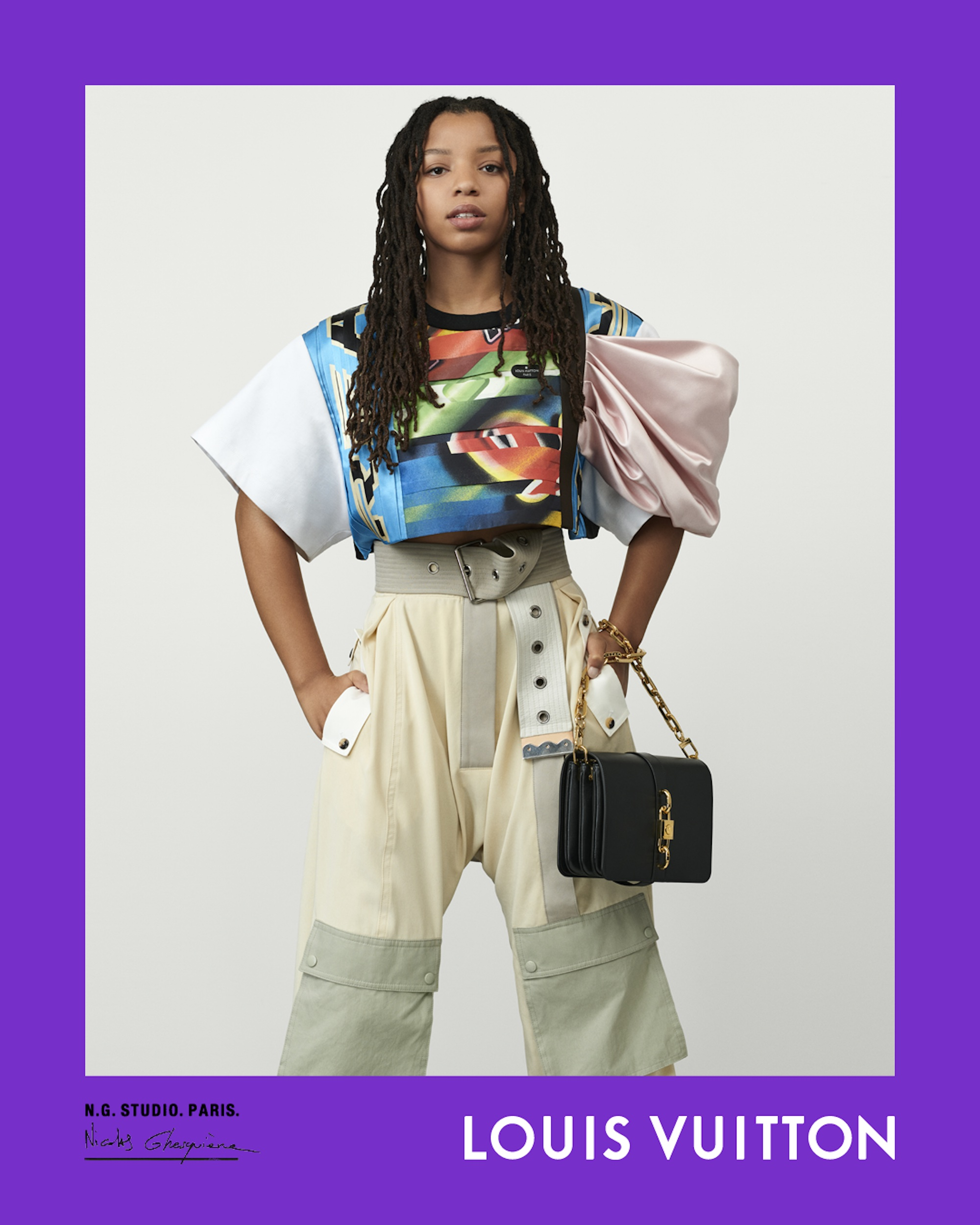 Louis Vuitton Spring Summer 2021 campaign, Nicolas Ghesquière, creative director, photographer, halle bailey