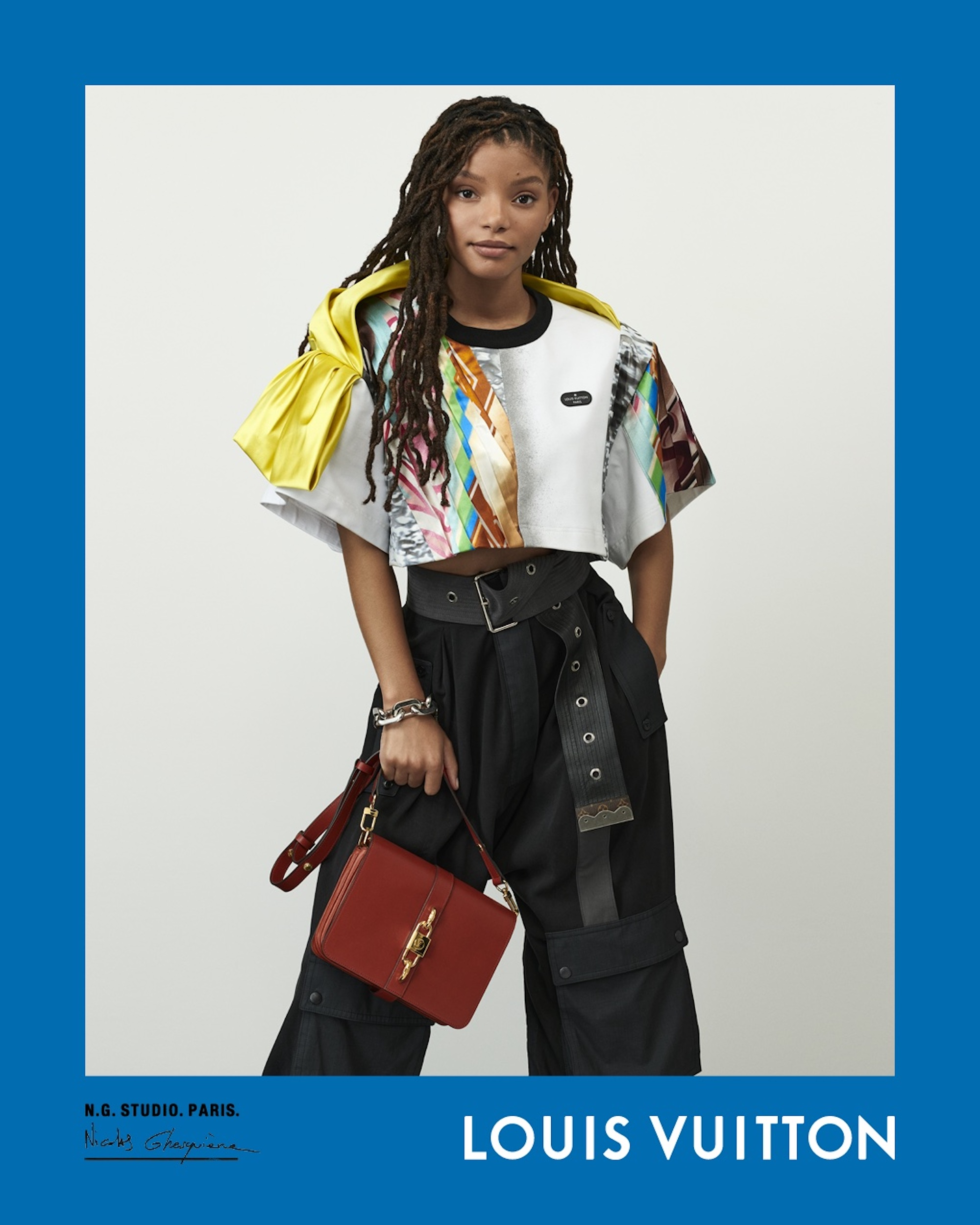Louis Vuitton Spring Summer 2021 campaign, Nicolas Ghesquière, creative director, photographer, chloe bailey