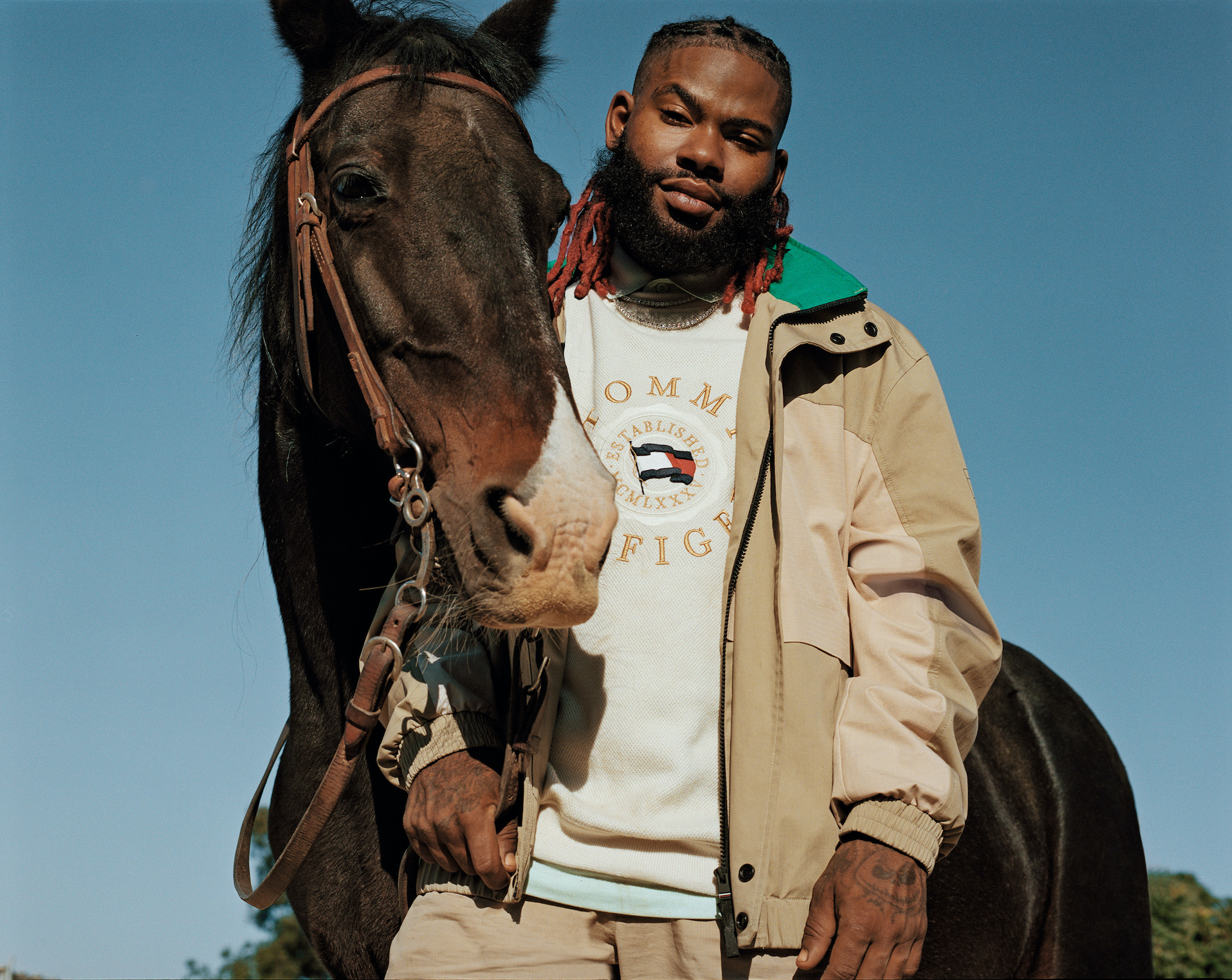 TOMMY HILFIGER SPRING 2021 COMPTON COWBOYS