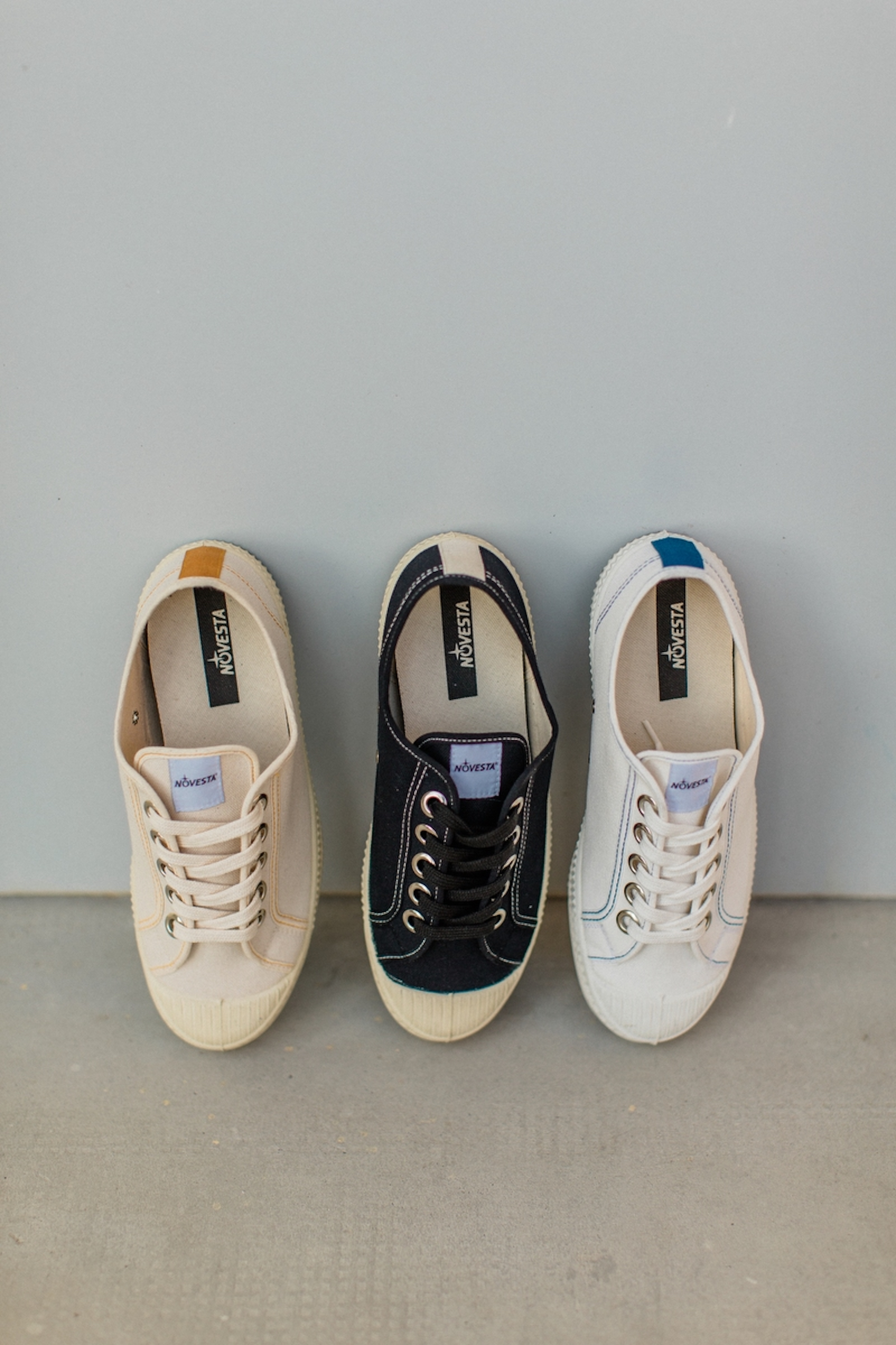 Novesta ss21 collection three shoes