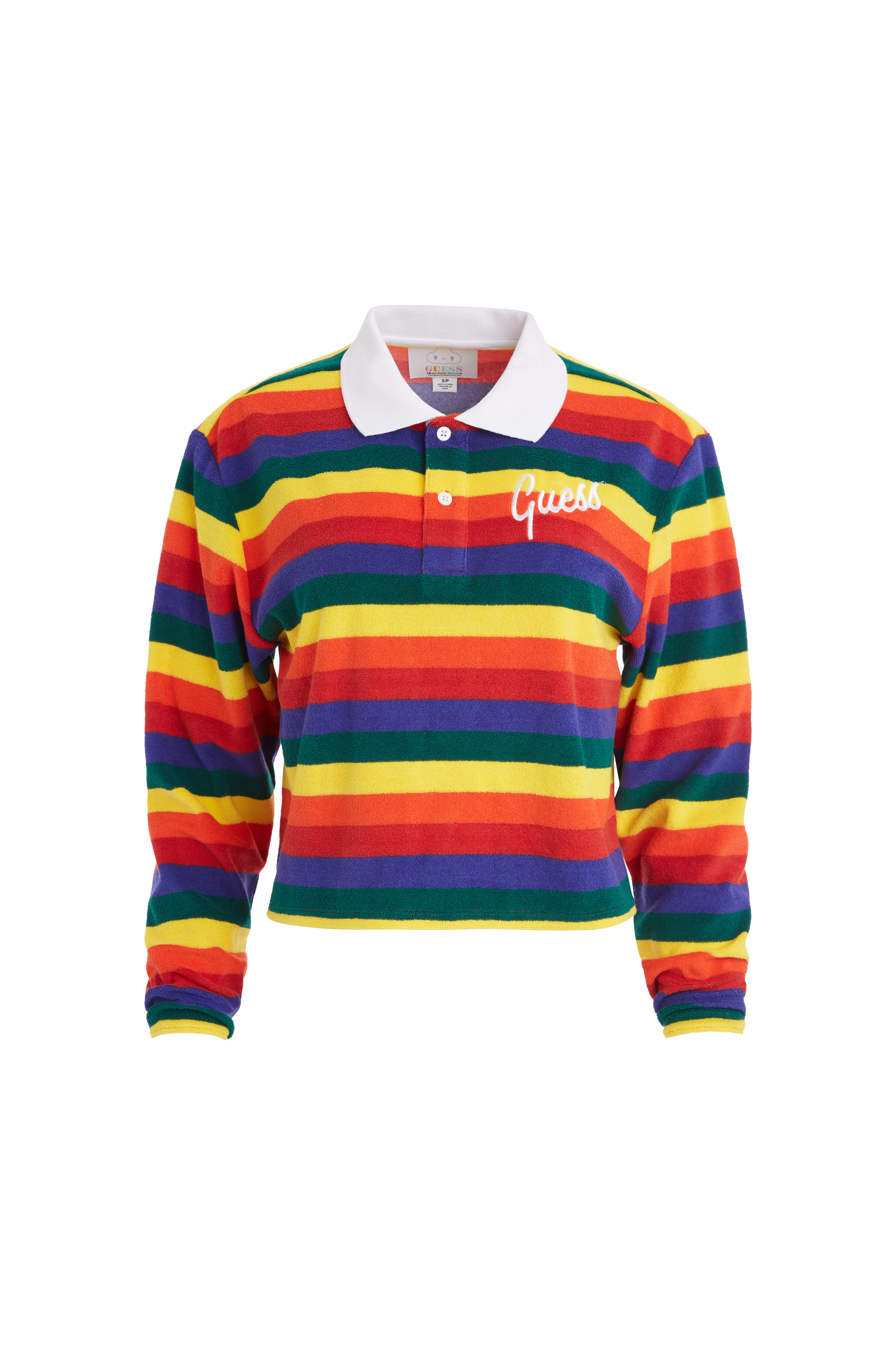 Guess x FriendsWithYou Rainbow long sleeve