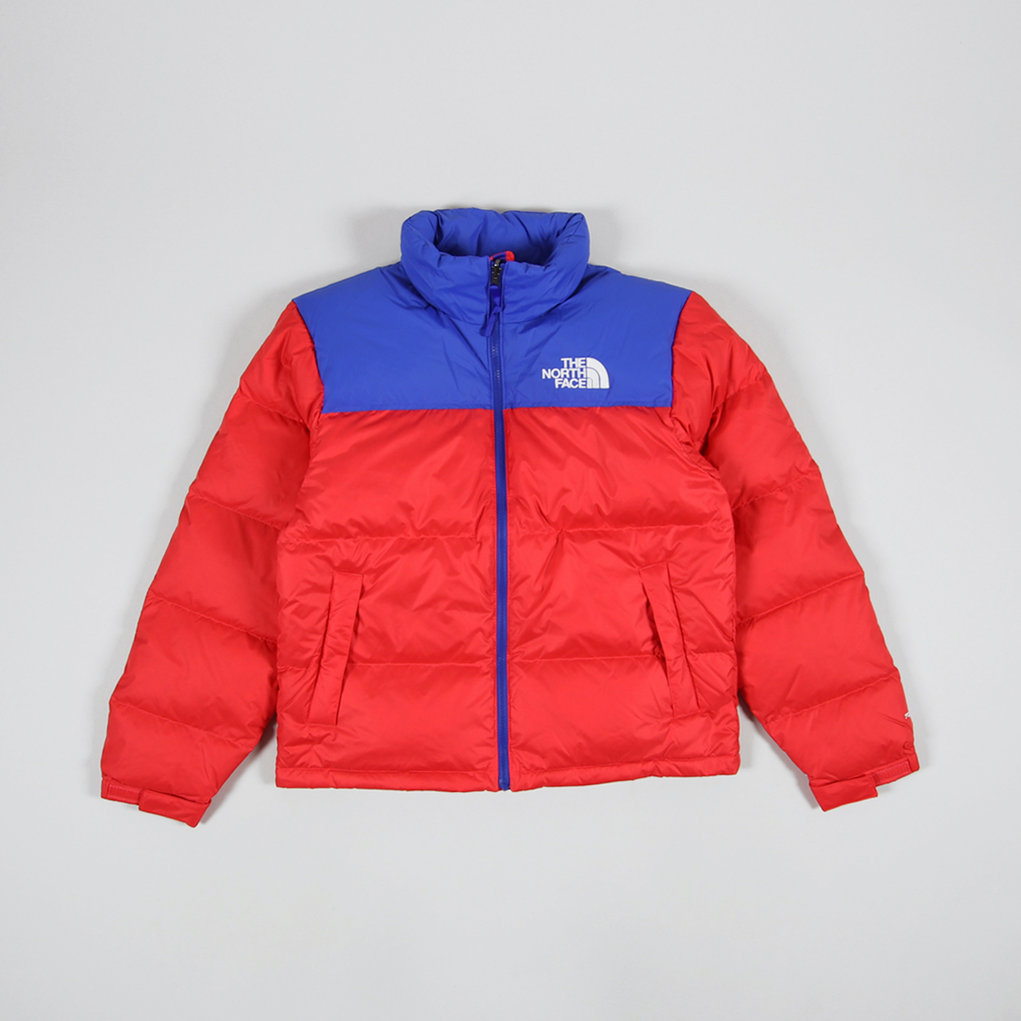 Red The North Face jacket