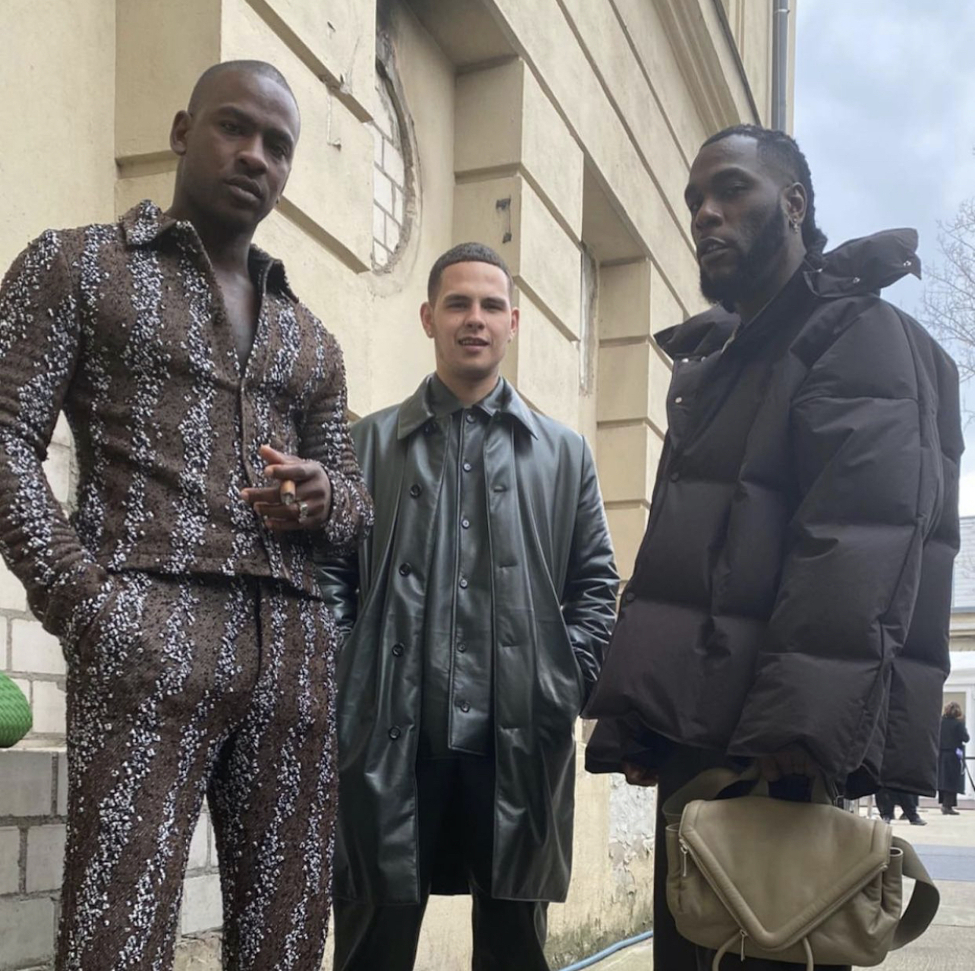 Wonderland looks of the week Skepta Slowthai and Burna Boy