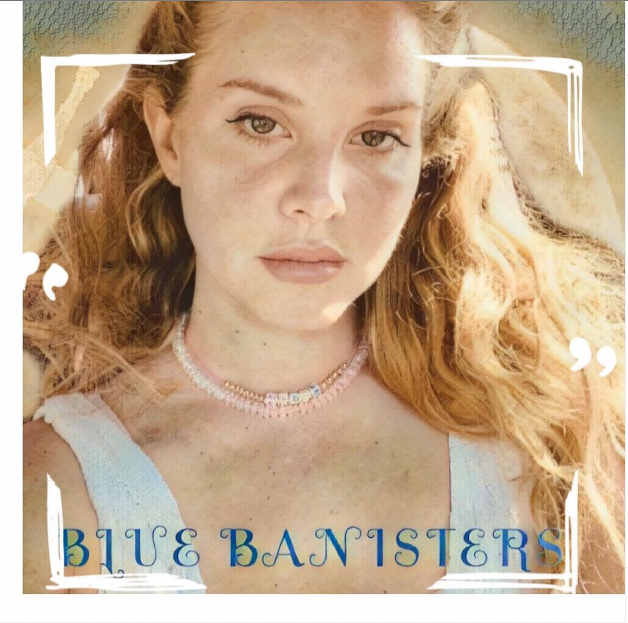 Lana Del Rey Blue Banisters Album Cover
