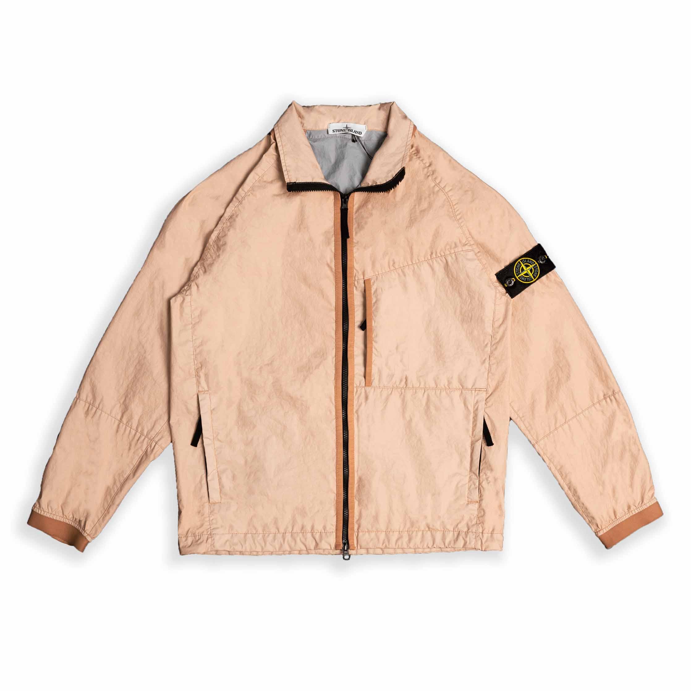 Stone Island Membrana 3L-TC Jacket In Light Pink